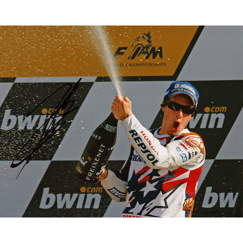 Signed Photograph - Nicky Hayden