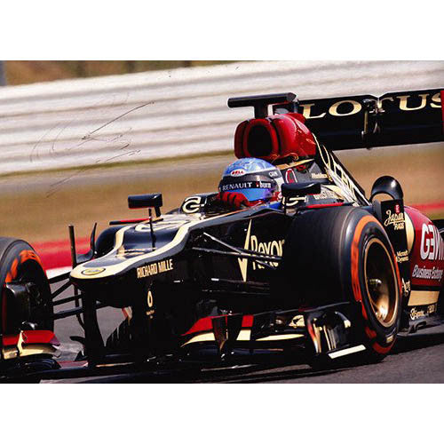 Signed photograph - Nicolas Prost