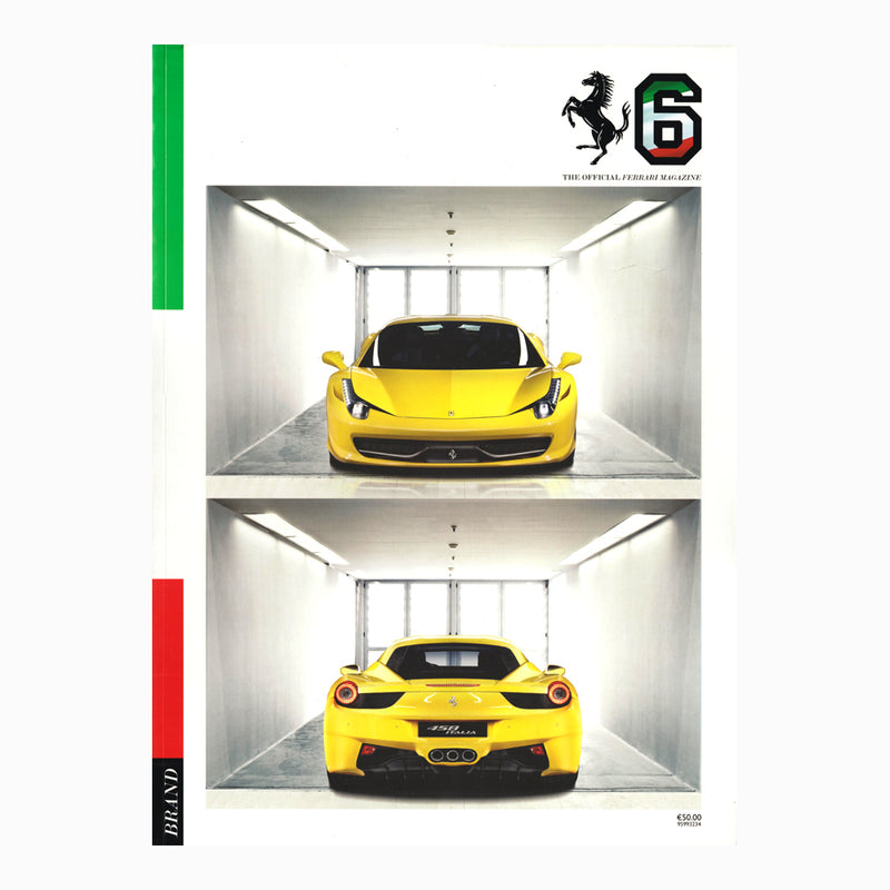 Book - The Official Ferrari Magazine Issue 6