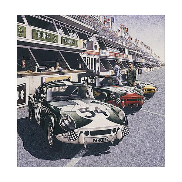 Simon Owen - The 1965 Le Mans Spitfires