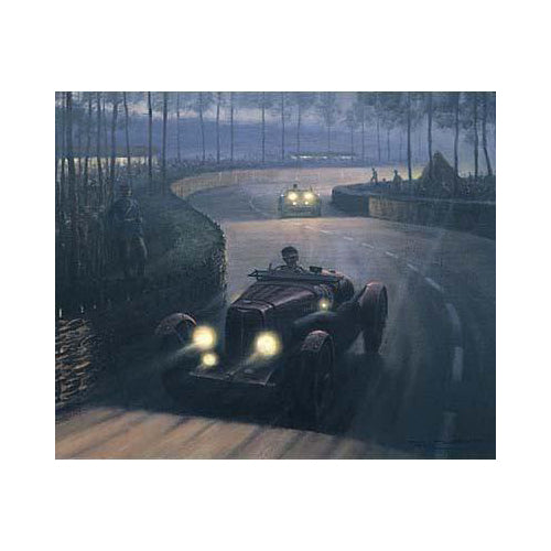 Roy Nockolds - Le Mans at Night