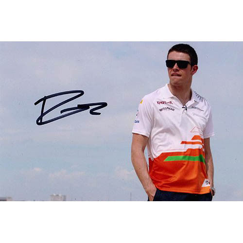 Signed photograph - Paul Di Resta