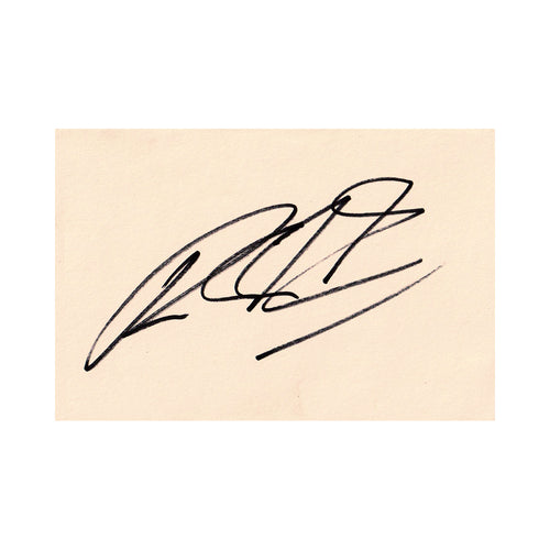Signed Card - Ralf Schumacher