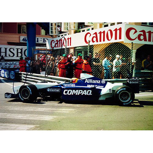 Signed photograph - Ralf Schumacher