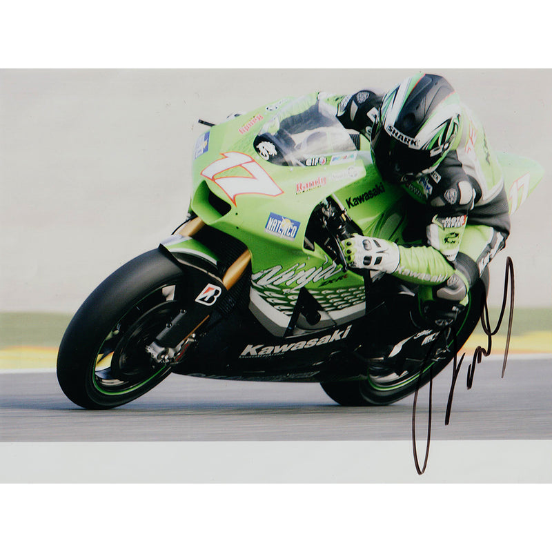 Signed Photograph - Randy de Puniet
