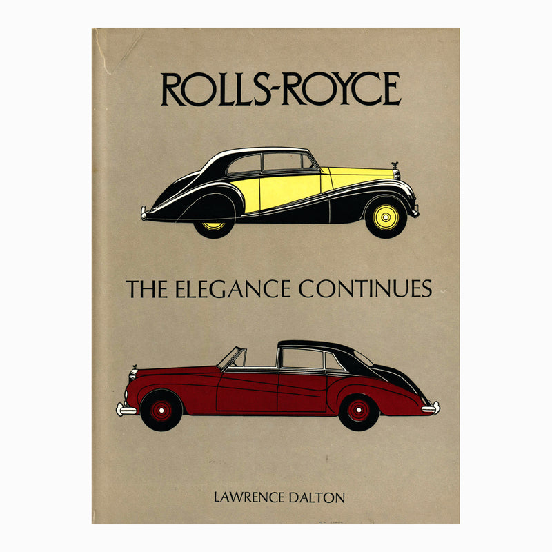 Book - Rolls Royce The Elegance Continues