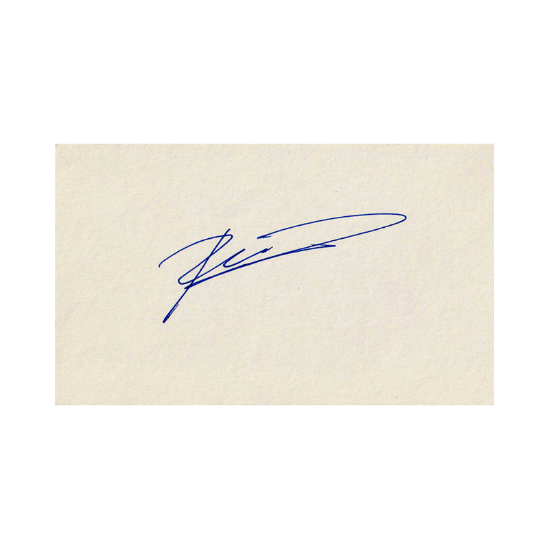Signed Card - Ron Dennis