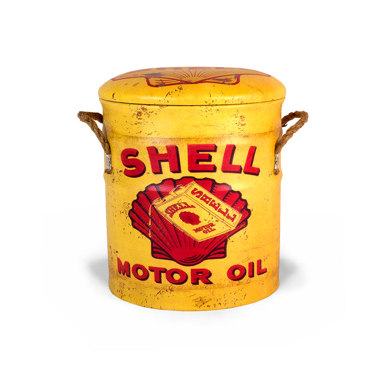 Shell Retro Storage Bin Stool - Medium