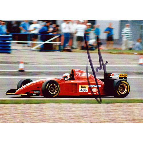 Signed photograph - Gerhard Berger #2