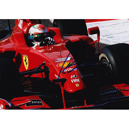 Signed Photograph - Giancarlo Fisichella