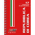 Scuderia Ferrari 2010 Grand Prix Logistics Notebook