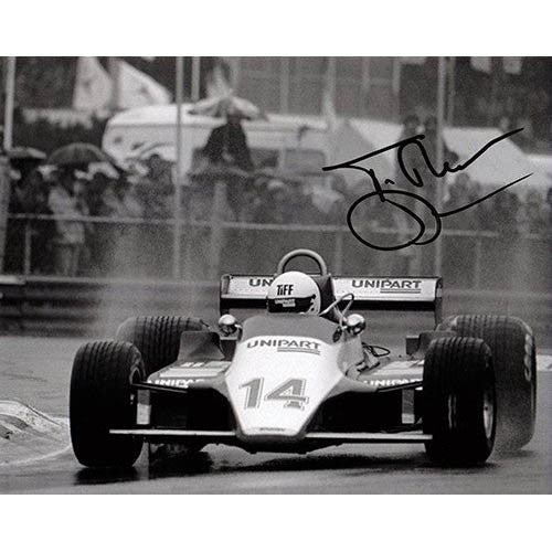 Signed photograph - Tiff Needell