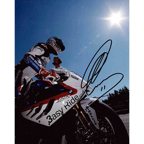 Signed Photograph - Troy Corser