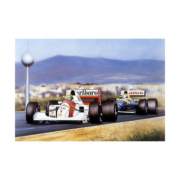 Wayne Vickery - Senna and Mansell