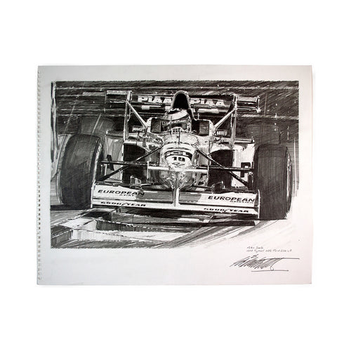 Nicholas Watts - Salo Original Pencil Sketch