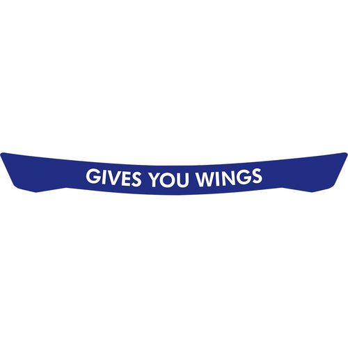 Gives You Wings Visor Strip