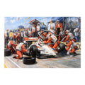 Alan Fearnley - Indycar Champions - Framed