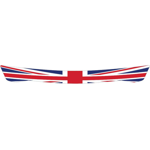 British Flag Visor Strip