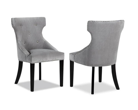 Agger Dining Chairs in Light Grey Kaster