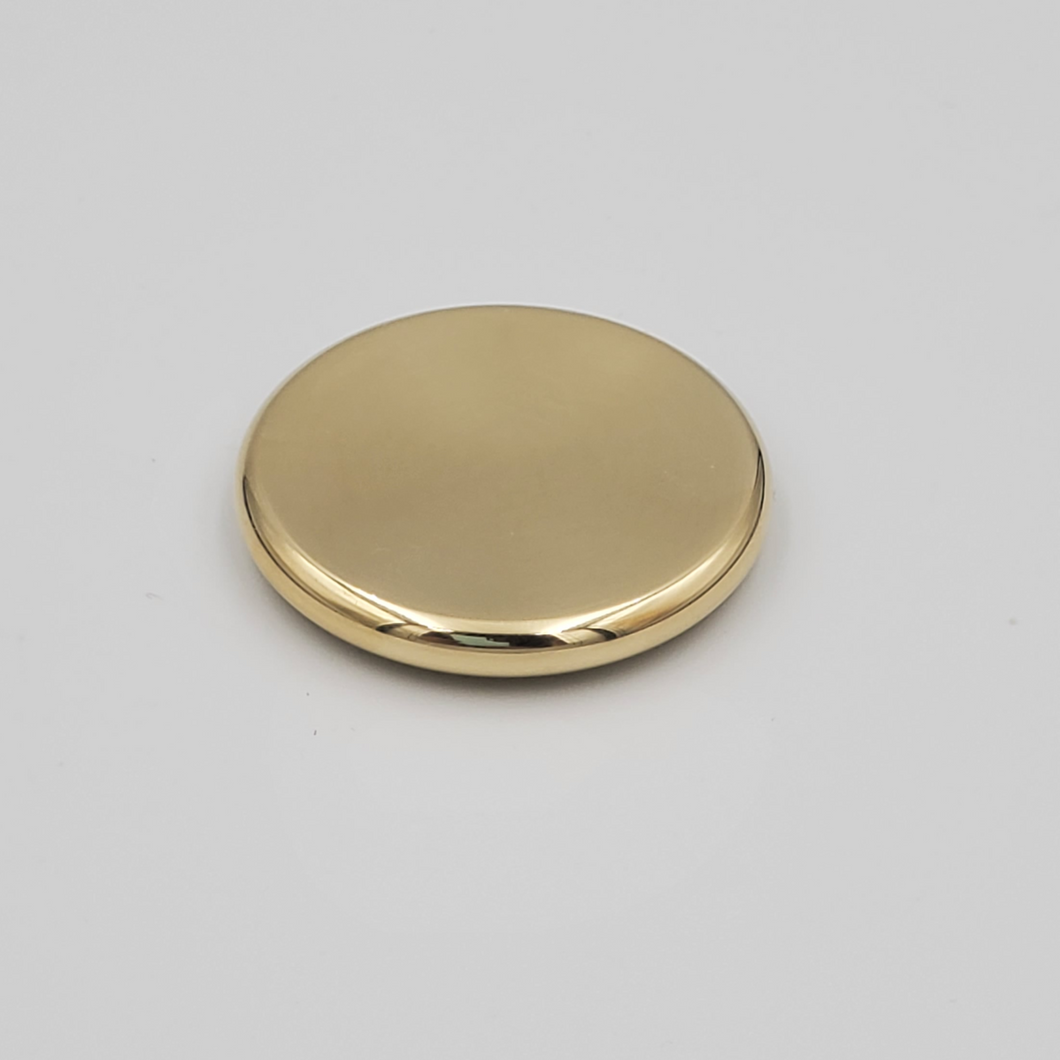 Brass Worry coin, Contact coin, Skill toy, Fidget toy