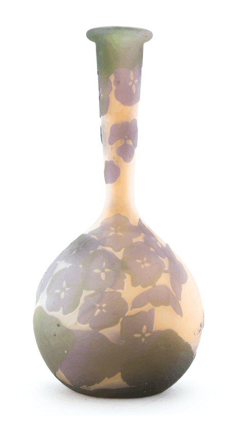 Real Galle Pastel Coloured Solifleur Vase