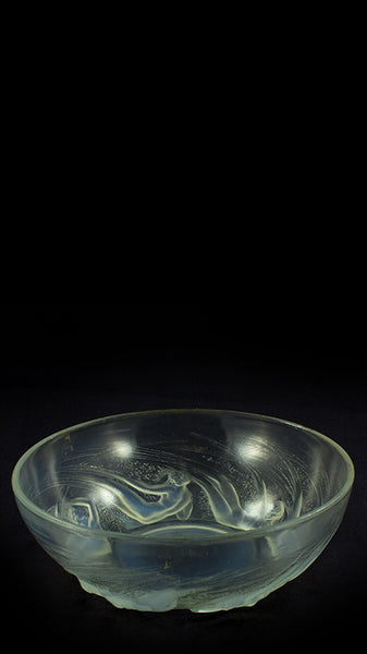Authentic Lalique Ondines Overt Bowl