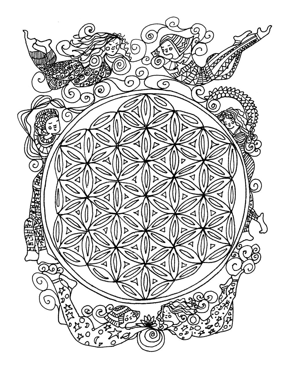 A Coloring Book Based on a Course in Miracles adult coloring book