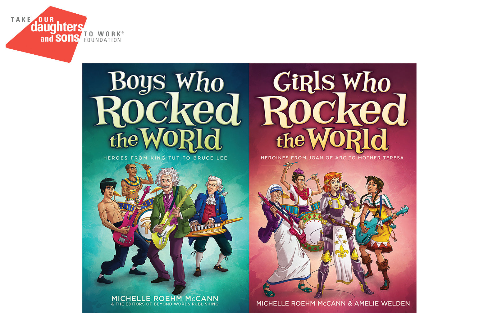 The Official Books of Take Our Daughters and Sons to Work Day