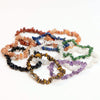 Single Strand Chakra Chip Bracelet