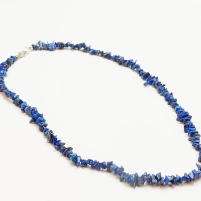 Single Strand Chakra Chip Necklace