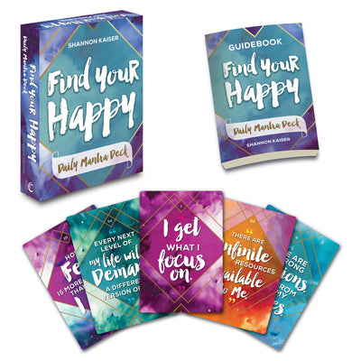 Find Your Happy Daily Mantra Bundle