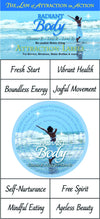 Water Blessing Labels-Radiant Body