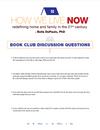How We Live Now Discussion Guide