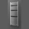 Lazzarini Sanremo Curved Towel Rail White 750 x 1700mm - 33.C717W