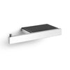Linea Toilet Roll Holder With Shelf High Gloss - 40407
