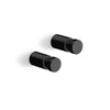 Aivo Towel Hook Set of 2 - 1.6cm Black - 40444