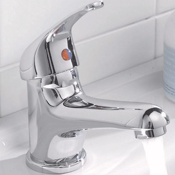 Mono Basin Mixer with Sprung Waste - 29.5002