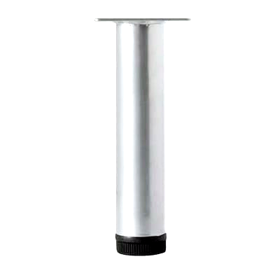 200mm Chrome Decorative Leg - ADL200