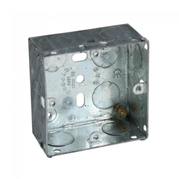 Switch and Socket Box, 1 Gang 25mm - 820.95.012