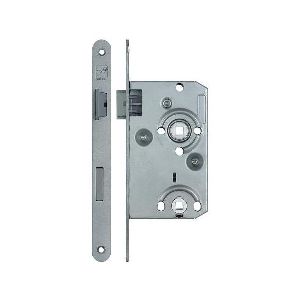 Mortice Bathroom Lock, 78/55mm - 911.01.118