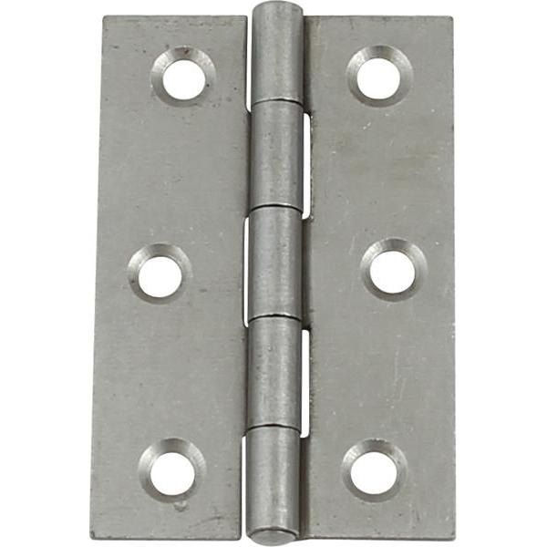 1838 Steel butt hinge, 75 x 49 mm - 926.85.065