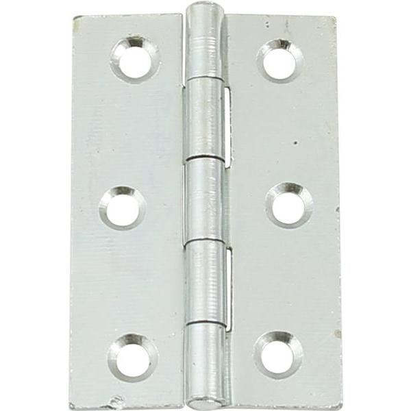 1838 Steel butt hinge, 75 x 49 mm - 926.85.069