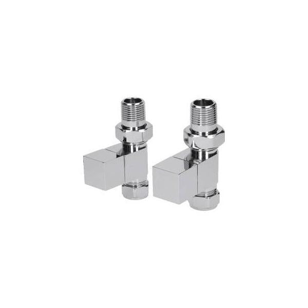 Kartell Cube Straight Valves (Pair) - CUBE-STR