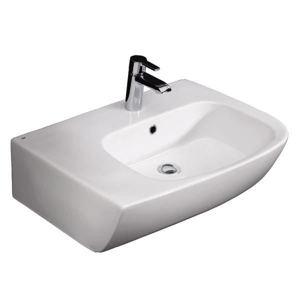 RAK Elena 65cm Counter Top Basin Left Hand - ELENCTBAS1LH - 80% Off