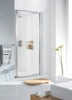 Lakes Classic 1000 x 1850mm Silver Framed Pivot Shower Door