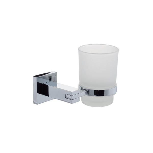 Series 13 Frosted Glass Tumbler & Holder - 270.13.006