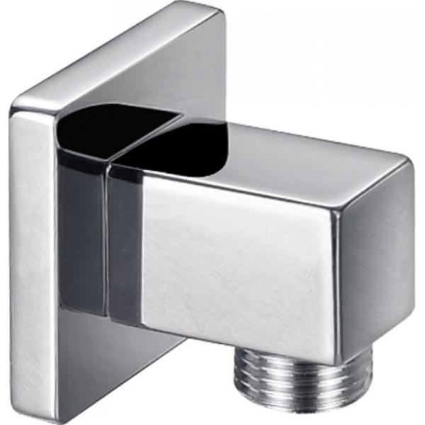 Square Brass Wall Outlet Elbow - KI121