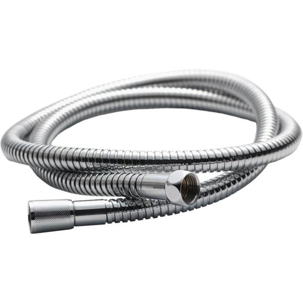Chrome Plated 11mm Bore Double-Lock Hose 2000mm - KI190E
