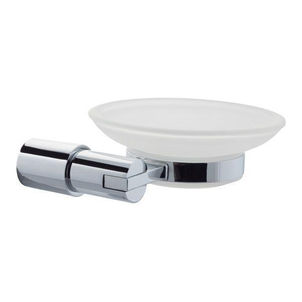 Series 14 Frosted Soap Dish & Holder - 270.14.004