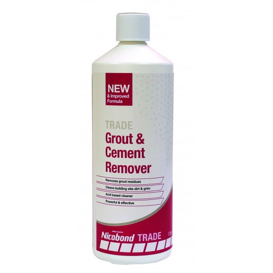 Nicobond Grout & Cement Remover 1 Litre - N2540702